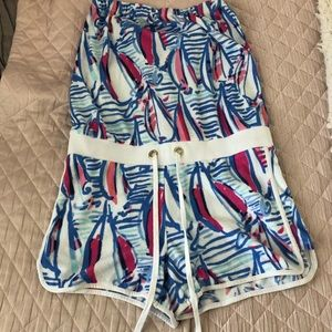 Lilly Pulitzer terrycloth romper